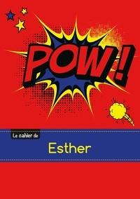 XXX - Le carnet d'Esther - Blanc, 96p, A5 - Comics.