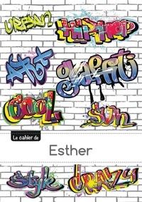 XXX - Le carnet d'Esther - Blanc, 96p, A5 - Graffiti.