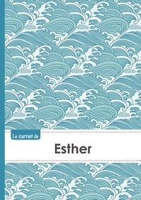 XXX - Le carnet d'Esther - Lignes, 96p, A5 - Vague Japonaise.