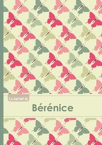 XXX - Le carnet de Bérénice - Lignes, 96p, A5 - Papillons Vintage.