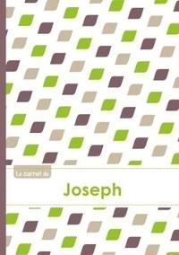 XXX - Le carnet de Joseph - Lignes, 96p, A5 - Pe´tales Vert Taupe Gris.