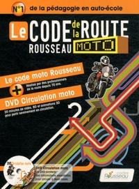 Codes Rousseau - Le code de la route Rousseau moto. 1 DVD