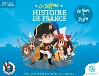 Vincent Mottez et Leslie-Fleur Picardat - Le coffret Histoire de France - Le livre + le jeu.
