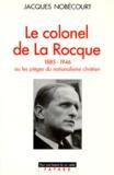 Jacques Nobécourt - .