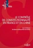 Dayuan Han et Ferdinand Mélin-Soucramanien - Le contrôle de constitutionnalité en France et en Chine.