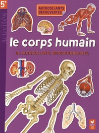 Hachette - Le corps humain - 65 autollants repositionnables.