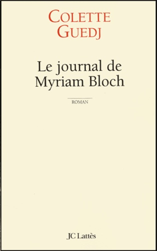 Le journal de Myriam Bloch
