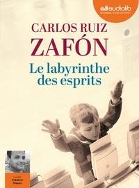 Carlos Ruiz Zafon - Le labyrinthe des esprits - Le cimetière des livres oubliés. 3 CD audio MP3
