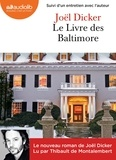 Joël Dicker - Le Livre des Baltimore. 2 CD audio MP3