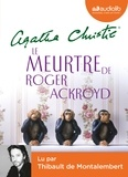 Agatha Christie - Le meurtre de Roger Ackroyd. 1 CD audio MP3