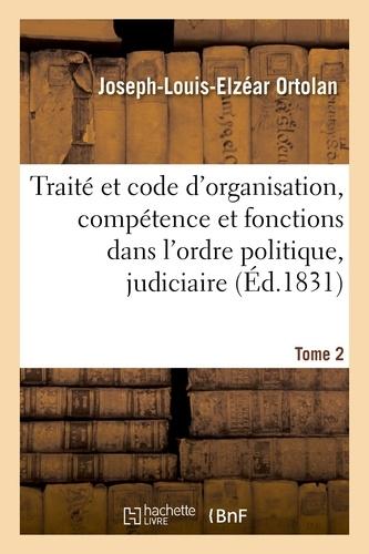 Hachette BNF - Le Ministère public en France. Traité et code de son organisation, de sa compétence.