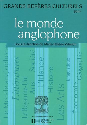 Marie-Hélène Valentin et Annette Bouju - Le monde anglophone.