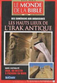 Benoît de Sagazan - Le monde de la Bible Hors-série, printemp : Les hauts lieux de l'Irak antique.