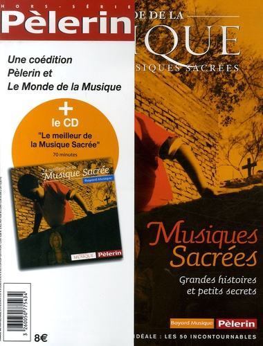 Gérard Pangon - Le Monde de la Musique Tome : Musiques sacrées. 1 CD audio