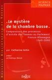 Catherine Achin - Le mystère de la chambre basse - Comparaison des processus d'entrée des femmes au Parlement France-Allemagne, 1945-2000.