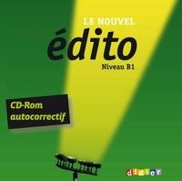 Elodie Heu - Le nouvel édito Niveau B1. 1 Cédérom