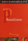 René Sève - Le pluralisme.