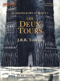John Ronald Reuel Tolkien - Le Seigneur des Anneaux Tome 2 : Les deux tours. 2 CD audio MP3