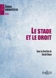 Gérald Simon - Le stade et le droit.