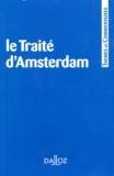 Trimestriel de droit européen Revue - Le Traité d'Amsterdam.