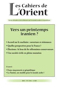 Michel Makinsky - Les Cahiers de l'Orient N° 123 : Vers un printemps iranien ?.