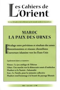 Antoine Sfeir et Mounia Bennani-Chraïbi - Les Cahiers de l'Orient N° 90, Juin 2008 : Maroc - La paix des urnes.