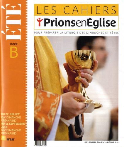Dominique Pierre - Les cahiers Prions en Eglise N° 257, mai-juin 201 : .