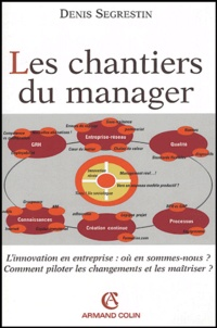 Denis Segrestin - Les chantiers du manager.