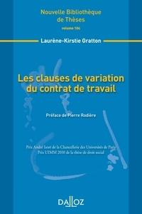 Les clauses de variation du contrat de travail.pdf