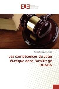 Les compétences du juge étatique dans larbitrage OHADA.pdf