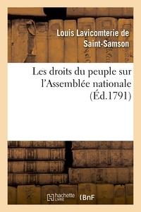 Cella - Les droits du peuple sur l'Assemblée nationale.