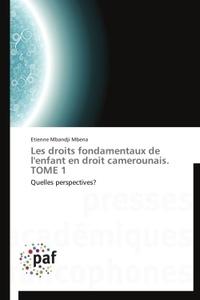 Dieudonné Mbena - Les droits fondamentaux de l'enfant en droit camerounais - Tome 1.