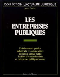 Jean Dufau - Les entreprises publiques.