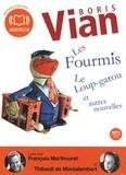 Boris Vian - Les Fourmis, Le Loup-garou et autres nouvelles. 1 CD audio MP3