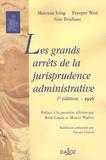 Marceau Long et Prosper Weil - Les grands arrêts de la jurisprudence administrative - Edition de 1956.