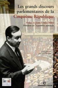 Jean Garrigues - Les grands discours parlementaires de la Ve République.