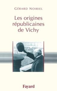 Les origines républicaines de Vichy.pdf