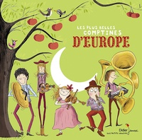 Didier Jeunesse - Les plus belles comptines d'Europe. 1 CD audio