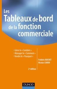 """Frédéric Buchet et Nicolas Caron - Les Tableaux de bord de la fonction commerciale - Gérer le """"Combien"""", manager le """"Comment"""", vendre le """"Pourquoi""""."""