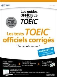 Téléchargement gratuit des publications du livre Les tests officiels corrigés TOEIC 9782017013662 FB2 PDF RTF par Hachette in French