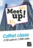 Erwan Gouraud - Let's Meet up! 1re B1/B2. 1 DVD + 2 CD audio
