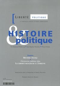 Emmanuel Perrier et Jean-Baptiste Manchon - Liberté politique N° 32, Janvier-Févri : Histoire et politique.