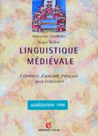 Roger Bellon et Ambroise Queffélec - .