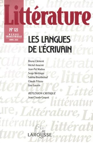 Larousse - Littérature N°131 Mars 2001 : Les langues de l'écrivain.