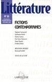 Tiphaine Samoyault et Guillaume Bridet - Littérature N° 151, Septembre 20 : Fictions contemporaines.
