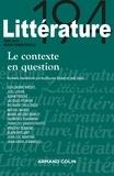 Nathalie Jouven et Guillaume Bridet - Littérature N° 194, juin 2019 : Le contexte en question.