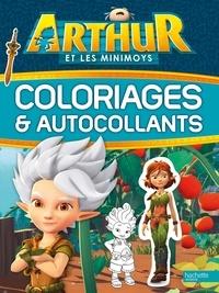 Hachette Livre - Arthur et les Minimoys - Coloriages et autocollants.