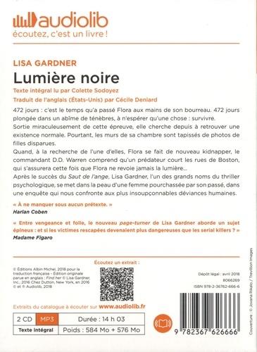 Lumière noire  avec 2 CD audio MP3