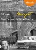 Georges Simenon - Maigret  : L'affaire Saint-Fiacre. 1 CD audio MP3
