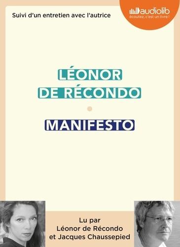 Léonor de Récondo - Manifesto - Suivi d'un entretien avec l'autrice. 1 CD audio MP3